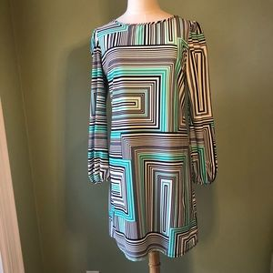 Jude Connolly Geometric Print Shift Dress
